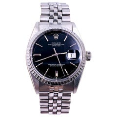 Rolex 1603 Datejust Stainless Steel Jubilee Band