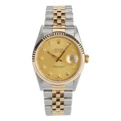 Rolex 16233 Datejust S238568 18k Gold and Steel Automatic Watch
