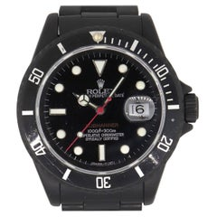 Rolex 16610 PVD All Black Submariner Watch