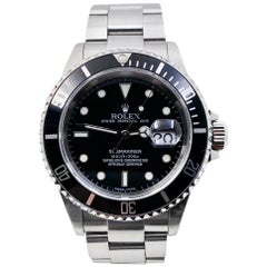Rolex 16610 Submariner Black Dial Stainless Steel 2005