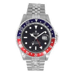 "Rolex 16700 Master GMT ""Pepsi"" Watch"