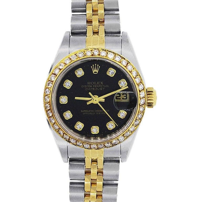 Rolex 179173 Datejust Diamond Dial Ladies Watch