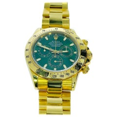 Rolex 18 K Yellow Gold Daytona SN Y335206 Watch