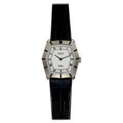 Rolex 18 Karat White Gold Cellini Geometric Manual Wind Wristwatch