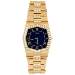 Rolex 18 Karat Yellow Gold Cellini Model 4671 with Custom Diamonds