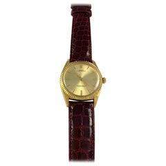 Rolex 18 Karat Yellow Gold Oyster Perpetual Oversize Watch, 1960s