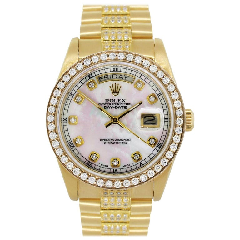 Rolex 18038 Day Date Wristwatch For Sale