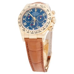Rolex 18k Yellow Gold Cosmograph Daytona Men's Watch 116518