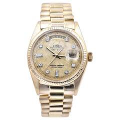 Rolex 18 Karat Yellow Gold Day-Date Super President Watch Ref. 1803/8