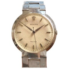 "Rolex 1950s ""UFO Flying Saucer"" Ref 9083 Steel Mechanical Wristwatch"