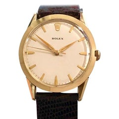 Rolex 1960s Automatic Gold Filled Large Wristwatch