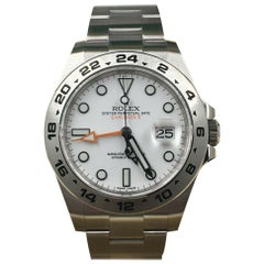 Rolex 216570 Explorer II Stainless Steel White Dial Box Paper 2020