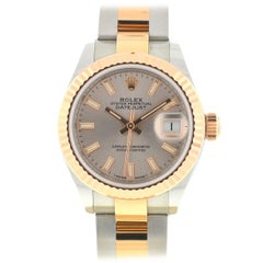 Rolex 279171 Datejust Two-Tone Rose Gold Stainless Steel Ladies Watch