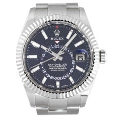 Rolex 326934 Sky-Dweller Blue Dial Watch