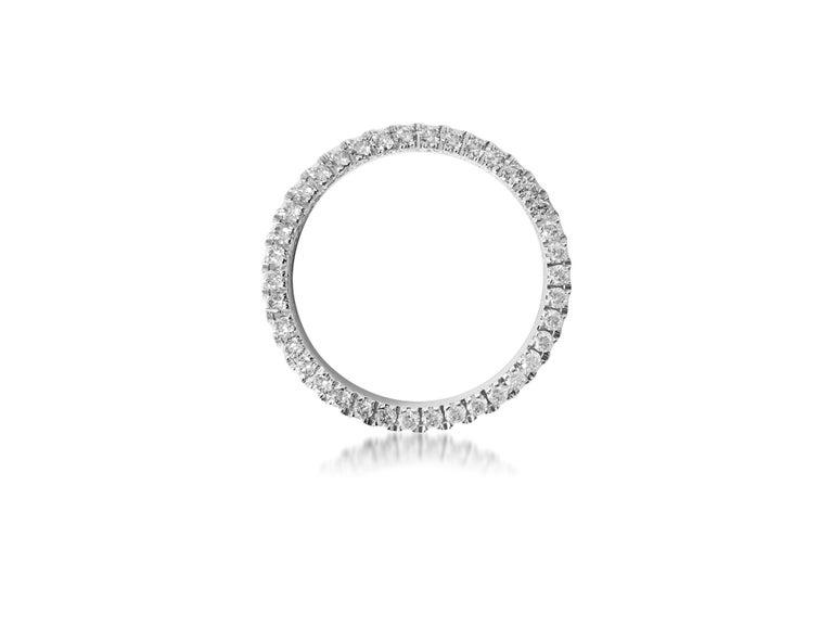 Modern Rolex Diamond Bezel, 2.50ct VVS Diamonds For Sale