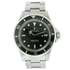 Rolex 5513 Submariner Non-Date Stainless Steel Watch