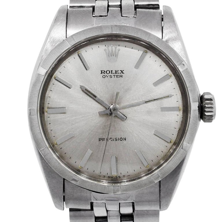 Rolex 6427 Oyster Precision Vintage Rolex Watch For Sale