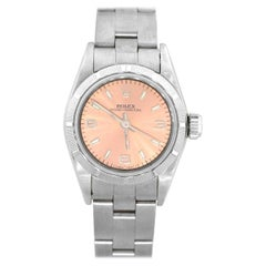 Rolex 67230 Oyster perpetual Salmon Dial Ladies Watch
