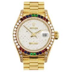 Rolex 69038 Datejust Crown Collection Ladies Wristwatch
