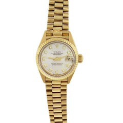 Rolex 6916 Datejust Champagne Diamond Dial Ladies Watch