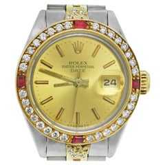 Rolex 6917 Date Two-Tone Ladies Watch