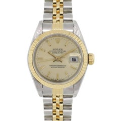Rolex 69173 Datejust Two Tone Wrist Watch