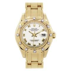Rolex 69318 Datejust Masterpiece Wristwatch