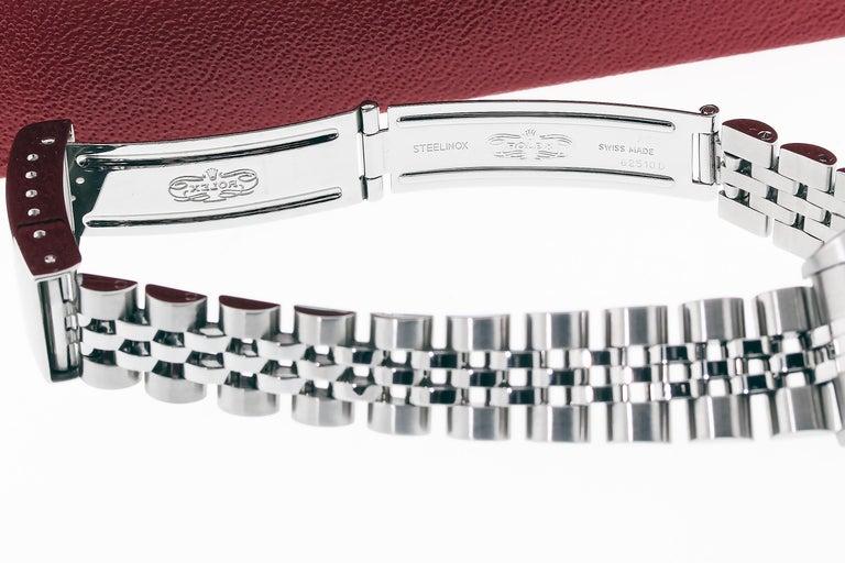 Rolex 79174 Datejust Steel Blue Vignette Diamond Box, Paper, Booklets For Sale 10