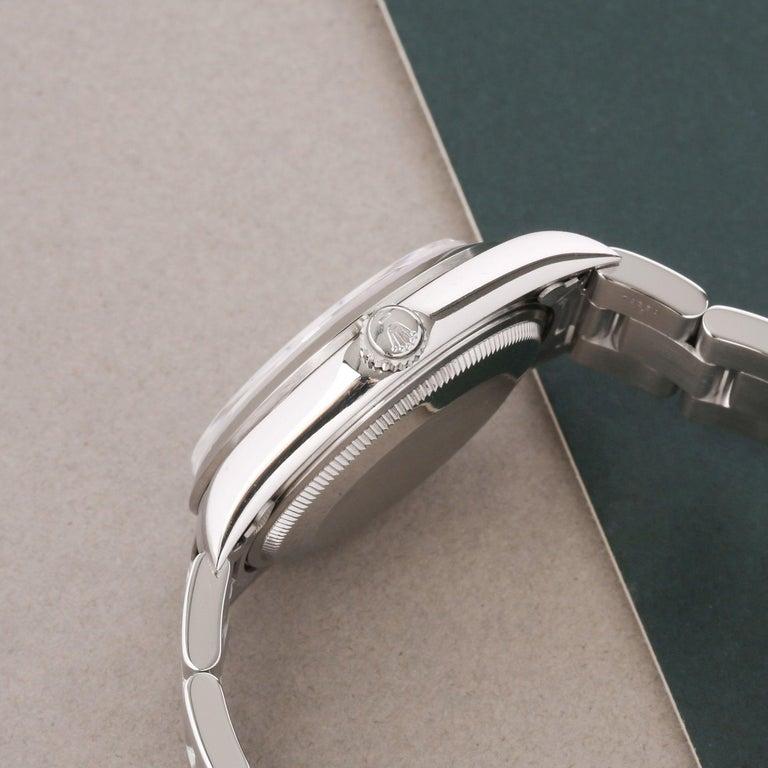 Rolex Air-King 0 14000 Men Stainless Steel 0 Watch In Excellent Condition For Sale In Bishops Stortford, Hertfordshire