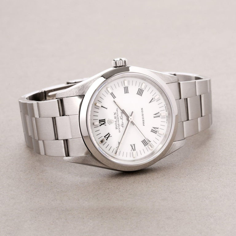 Rolex Air-King 0 14000 Men Stainless Steel 0 Watch For Sale 1