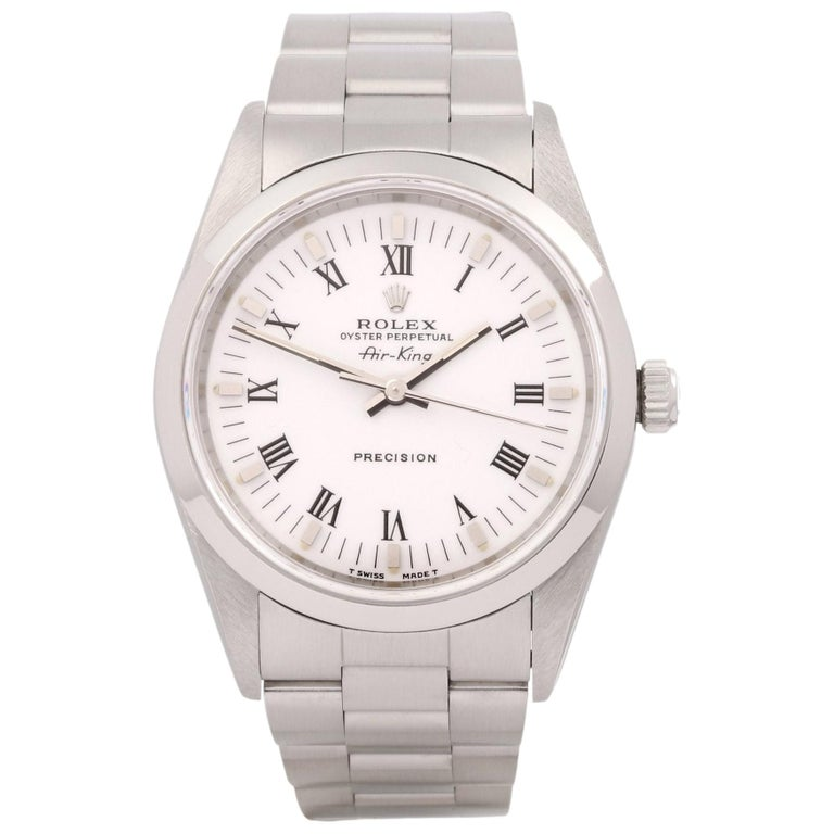Rolex Air-King 0 14000 Men Stainless Steel 0 Watch For Sale