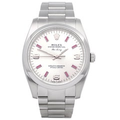 Rolex Air-King 114200 Unisex Stainless Steel Watch