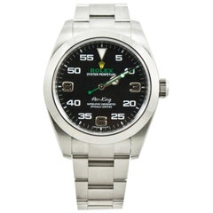 Rolex Air-King 116900, Millimeters Black Dial, Certified and Warranty