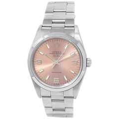 Rolex Air-King 14000, Salmon Dial, Certified and Warranty