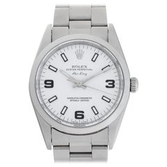Rolex Air King 14000 Stainless Steel Auto Watch