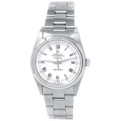 Rolex Air-King 14000, White Dial, Certified and Warranty