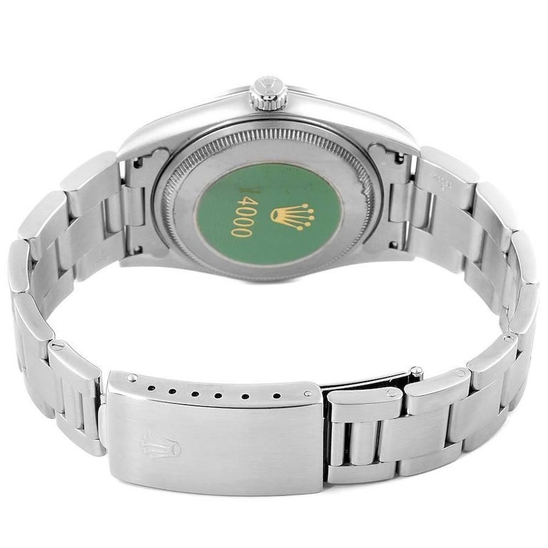 Rolex Air King White Dial Domed Bezel Men's Watch 14000 Box For Sale 6