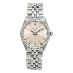 Rolex Air-King 5500, White Dial, Certified and Warranty