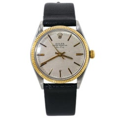 Rolex Air King 5501 Gold Automatic Mens Vintage Watch