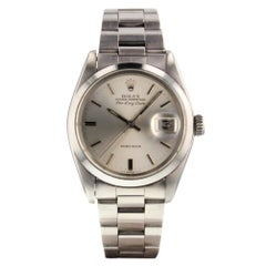 Rolex Air-King 5700, Black Dial, Certified and Warranty