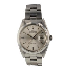 Rolex Air-King 5700, Silver Dial, Certified and Warranty
