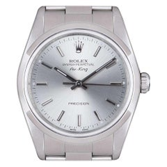 Rolex Air-King Gents Stainless Steel Silver Dial 14000M
