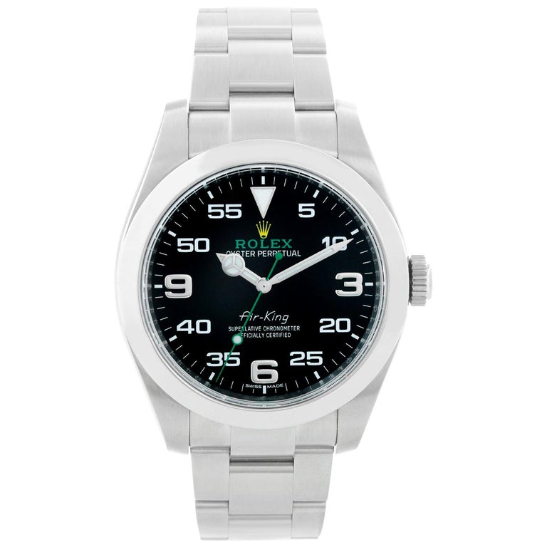 Rolex Air-King Men's Stainless Steel BKAO Watch 116900 For Sale