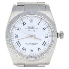 Rolex Air-King Men's Watch, Stainless Steel Automatic 2 Year Warranty 114210
