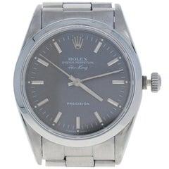 Rolex Air-King Men's Wristwatch, Stainless Steel Automatic 2 Year Warranty 14000