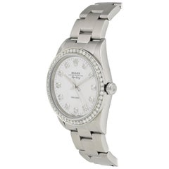 Rolex Air King Precision 14000 Mother of Pearl Diamond Men's Watch