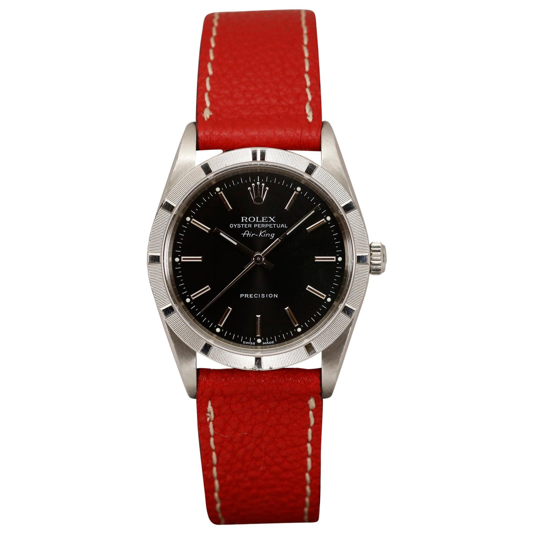 Rolex Air King Precision Stainless Steel Ref 14010M Wristwatch, circa 2006