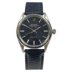 Rolex Air-King Reference 5500 Vintage Steel Automatic Wrist Watch