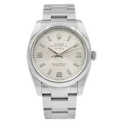 Rolex Air-King Silver Dial Stainless Steel Automatic Men's Watch 114200