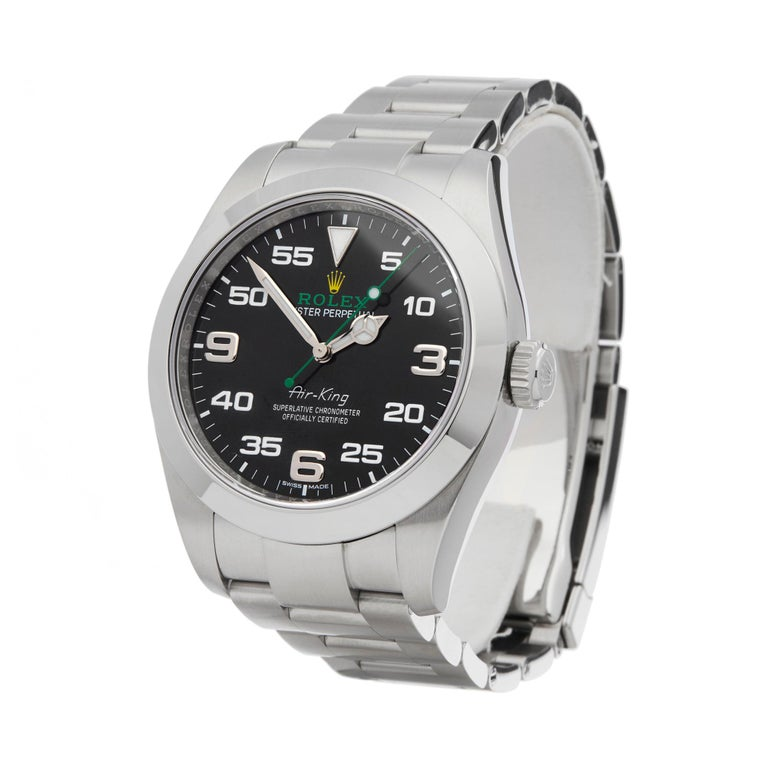 the best attitude 06a2c 87d70 Rolex Air King Stainless Steel 116900